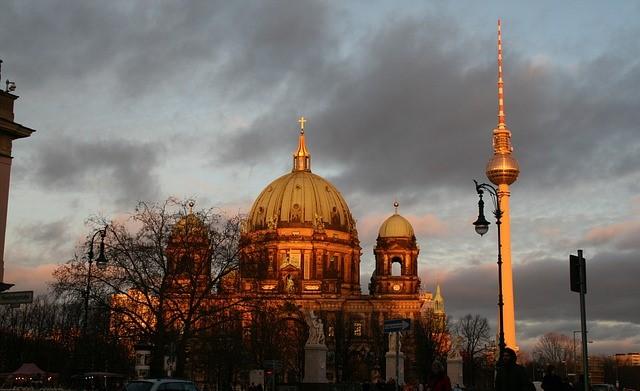 Laternenumzug Berliner Dom